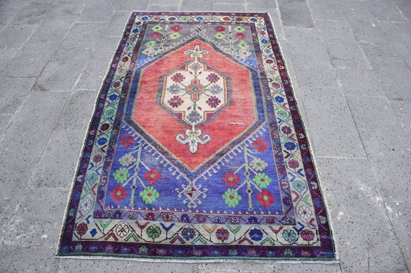 Leila Vintage Turkish Rug | Decoraline