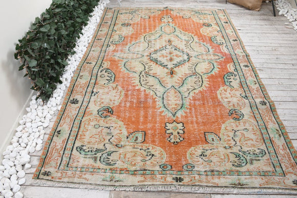 Duke Vintage Turkish Rug | Decoraline
