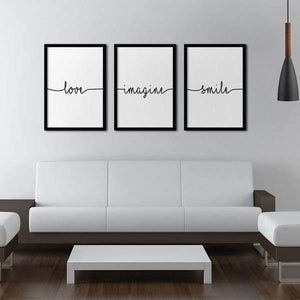 Love Poster Set | Decoraline