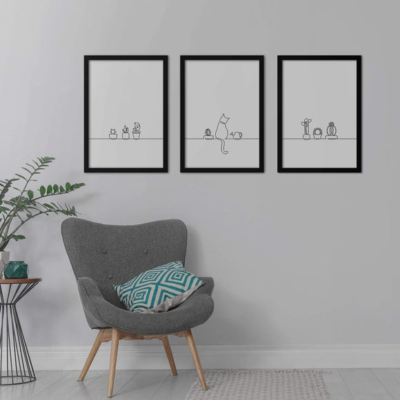Good Mood Poster Set | Decoraline