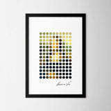 Dot Art Poster Set | Decoraline