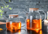Arina Glass Tea & Juice Jug | Decoraline