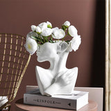 Kallan Sculpture Pot | Decoraline