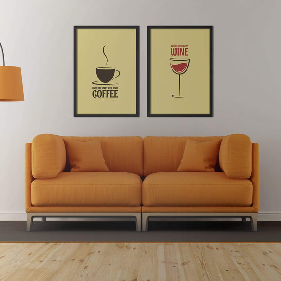 Good Day Poster Set | Decoraline
