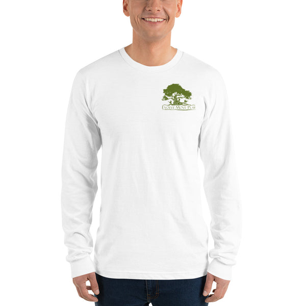 Long sleeve t-shirt (White & Green)