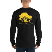 Long sleeve t-shirt (Black & Yellow)