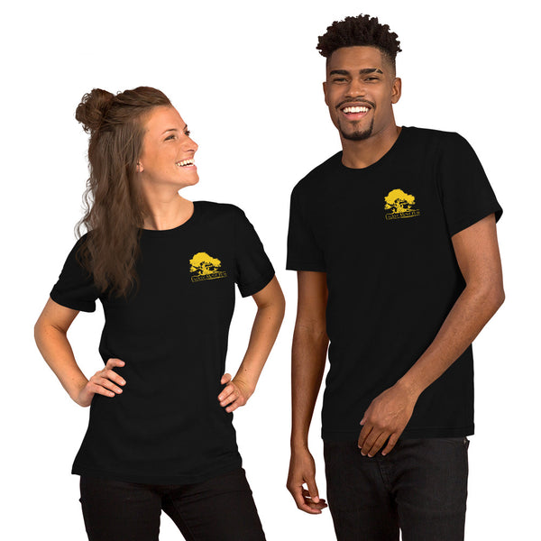 Short-Sleeve Unisex T-Shirt (Black and Yellow)