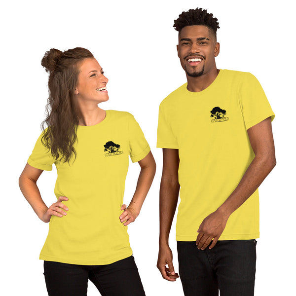Short-Sleeve Unisex T-Shirt (Yellow and Black)