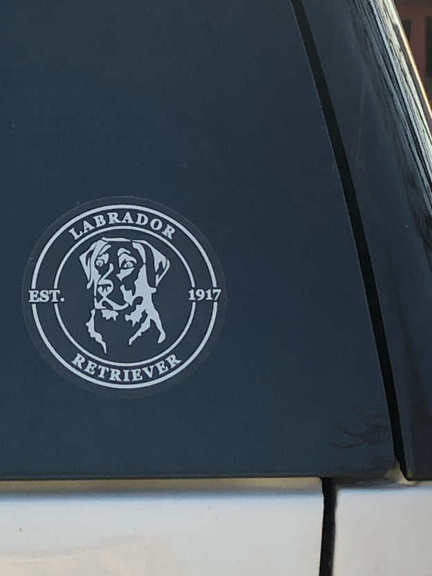 Labrador Decals