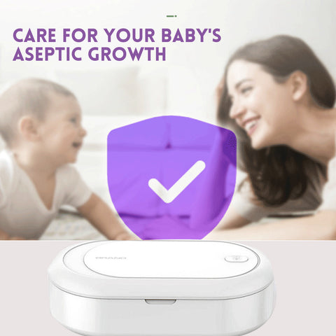 UV Light Sanitizer Box with Woman and Baby