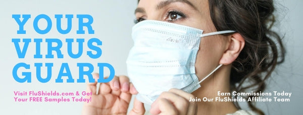 FluShields, Your Virus Guard - FFP2 Kn95 N95 3Ply Surgical Face Masks