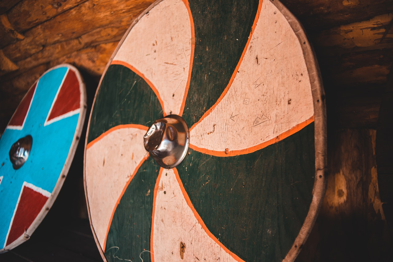 Colored Wooden Viking Shields - Are Covid Vaccines a Full-Proof Shield Against Coronavirus?