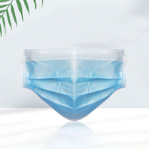 3 ply Surgical Mask Blue Disposable (ASTM Level 1) Disposable Surgical Mask FluShields