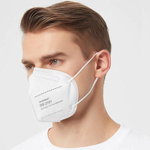 Disposable KN95 Respirator Face Mask | FDA EUA Disposable KN95 Mask FluShields 5