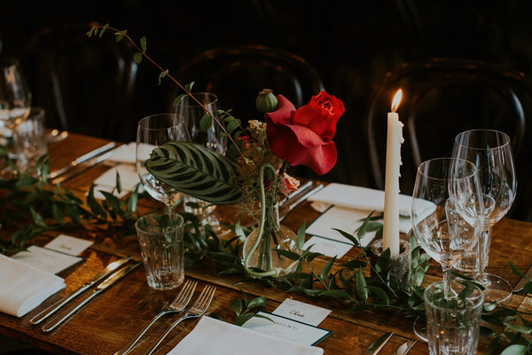 How to throw a stylish winter wedding