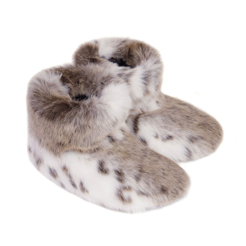 Truffle Faux fur Slipper Boots by Helen Moore