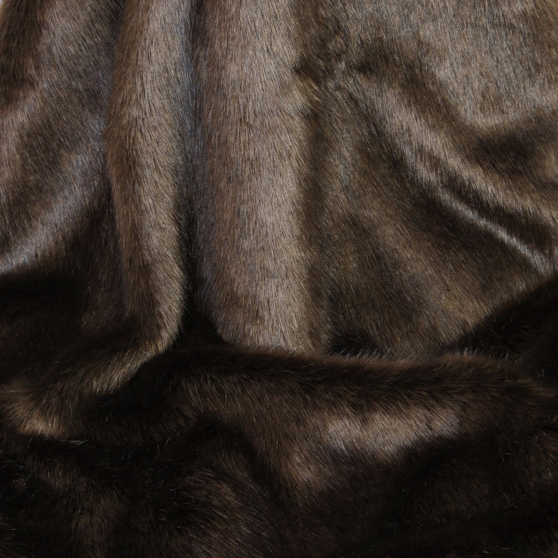 Treacle Faux Fur Swatch by Helen Moore