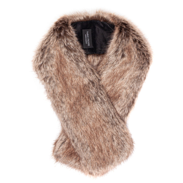 Faux fur Tippet by Helen Moore