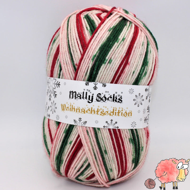 Ferner Wolle - Mally Socks - Weihnachtsedition