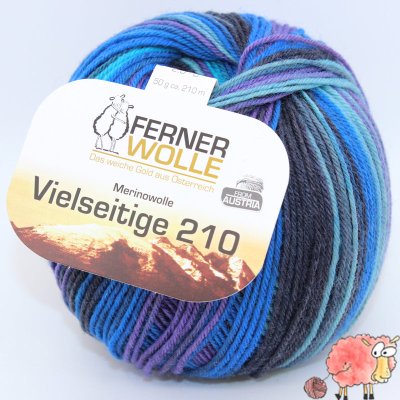 Ferner Wolle - Vielseitige 210 Color