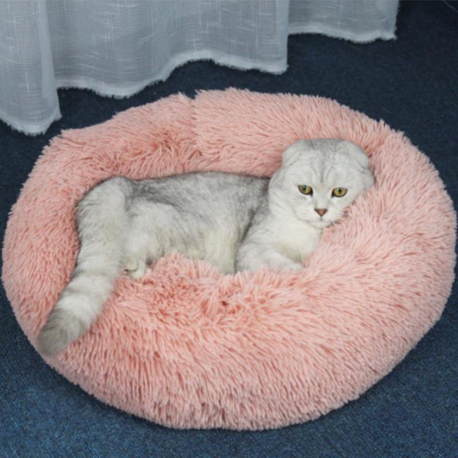 Comfy Calming Cat Bed - HobbyAddicted.com