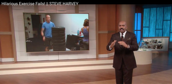 Steve Harvey's Hilarious Workout Fails