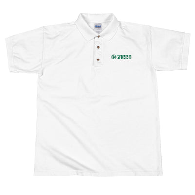 GREEN Embroidered Polo