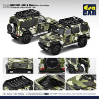Era Car #50 1st Edition Mercedes-Benz G63 AMG Scale 1:64 Military Camouflage