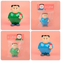 "Joan Cornellà ""K-Love"" Vinyl Figure 6.7 inch - Blue and Green Set"