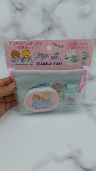 SANRIO LITTLE TWIN STAR STATIONERY (MEMO PAD and CHOP)