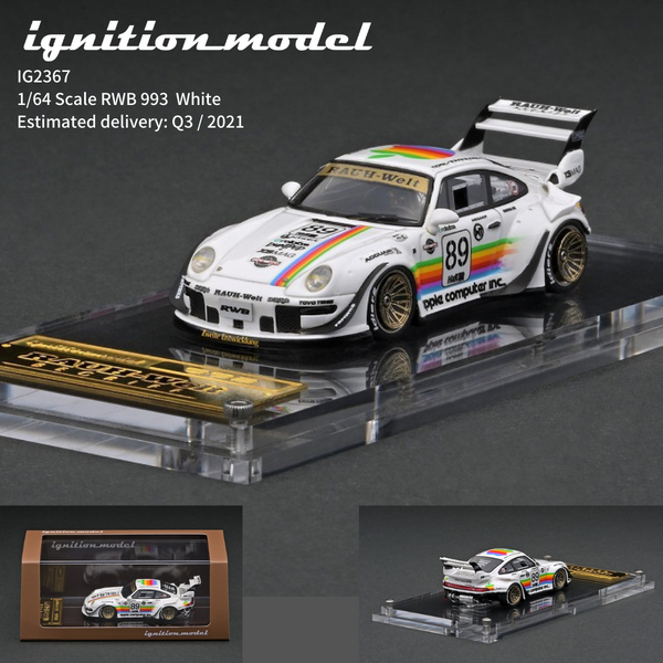 Ignition Model 1:64 Scale RWB Porsche 993 Apple Resin