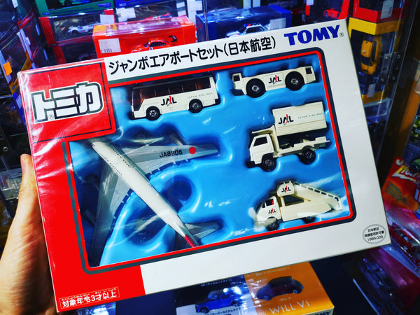 Tomica Japan Airline Airport Gift Set
