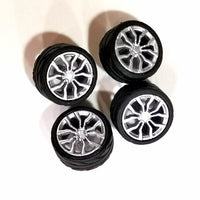 3D printed Rims and Tires set 1:64 SCALE