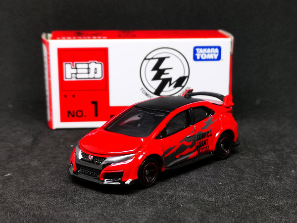 Tomica Event Model #1 Honda Civic FK2 TypeR