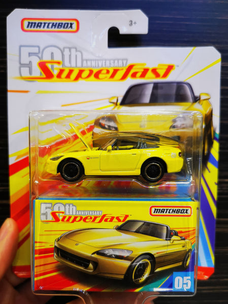MatchBox 50th Anniversary Super Fast #05 Honda S2000