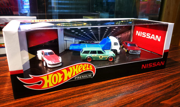 Hotwheels Premium Walmart Exclusive Nissan Set