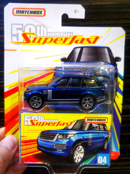MatchBox 50th Anniversary Super Fast #04 Range Rover