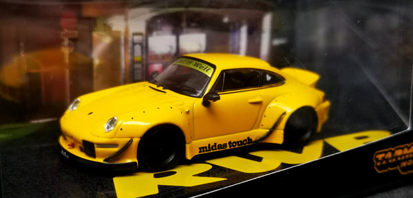 Tarmac Works Porsche 993 RWB Midas Touch 1:64 Scale New in box