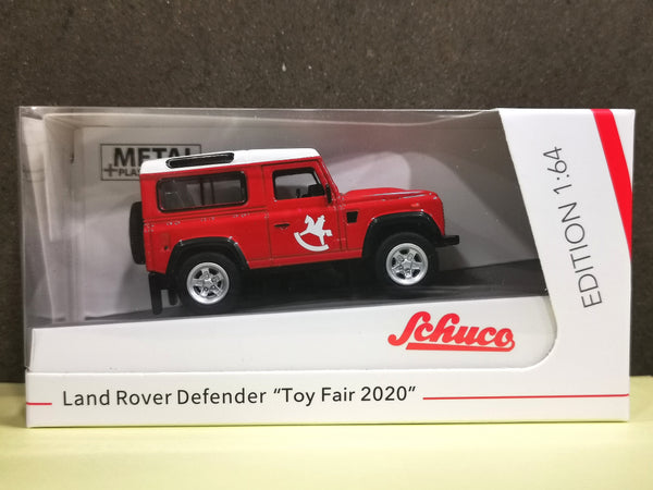 Schuco Toy Fair 2020 exclusive 1:64 Scale Land Rover Defender