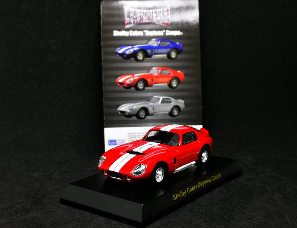 Kyosho 1:64 Scale USA Sport Car Collection Shelby Cobra Daytona Coupe