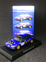 Kyosho 1:64 Scale Subaru Minicar Collection Subaru Legacy RS
