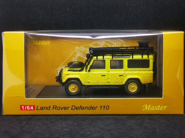 Master Model 1:64 Scale Camel Trophy Land Rover Defender 110 Dirty Ver. With Off Road Kits
