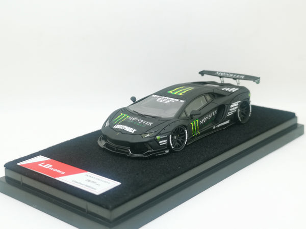 JEC LB Lamborghini Aventador Monster Resin 1:64 Taiwan Exclusive