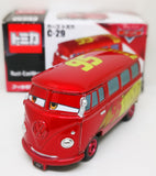 Tomica Disney Cars C-29 Fillmore with Rusty EzeWarp