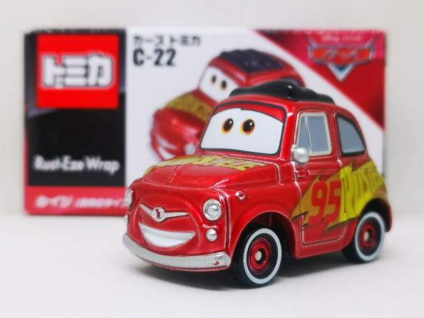 Tomica Disney Cars C-22 Luigi with Rusty EzeWarp