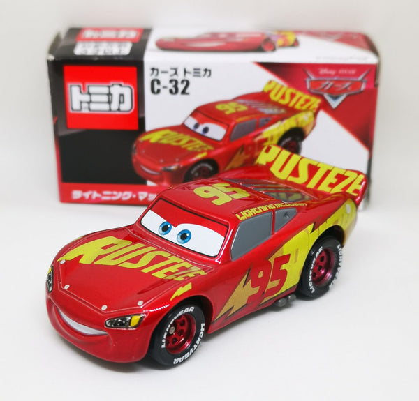 Tomica Disney Cars C-32 Lightning McQueen with Rusty EzeWarp