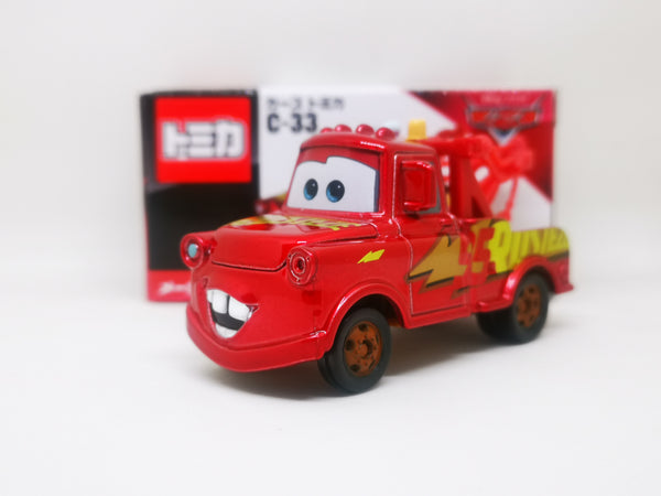 Tomica Disney Cars C-33 Mater with Rustee EzeWarp