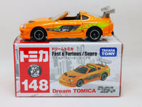 Tomica #148 The Fast and the Furious Toyota Supra Wild Speed 1:64 Scale