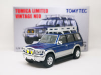 Tomytec Limited Vintage Neo Mitsubishi Pajero Mid-roof Wide VR '94 (blue / silver)