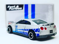Custom Made Tomica Fast and Furious Paul Walker Nissan GTR R35